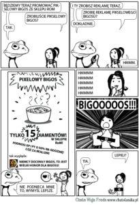 żaba bigos2